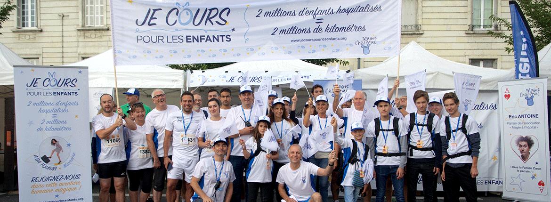 Groupe de Bénévoles Je Cours pour les enfants - 10 et 20km de Tours