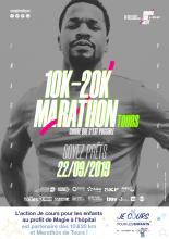 10&20km Tours, Marathon Tours, Je cours pour les enfants
